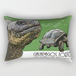 Galapagos Tortoise Rectangular Pillow