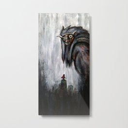 Wander and the Colossus Metal Print