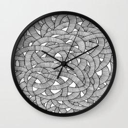 Macro Knit  Wall Clock