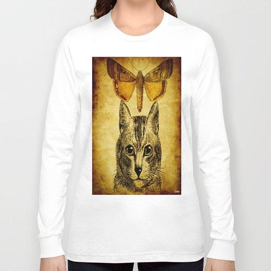 The mystic cat ( for Batkei) Long Sleeve T-shirt
