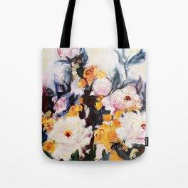 Roses au réveil Tote Bag