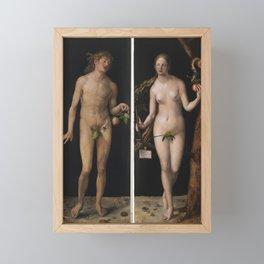 Albrecht Dürer - Adam and Eve Framed Mini Art Print