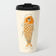 Koi Orange Travel Mug