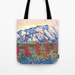 Denali Alpenglow Tote Bag