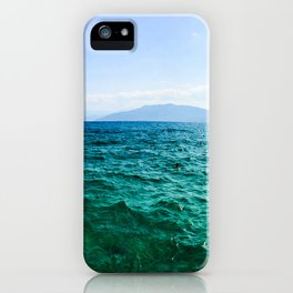 Nafplio Beach iPhone Case