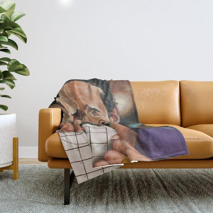 Jesus Quintana. Throw Blanket