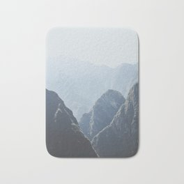 Mountains around Machu Picchu Bath Mat