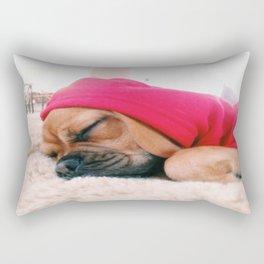 Hank sleeping, softly Rectangular Pillow