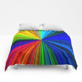 Colours of a Rainbow Comforters