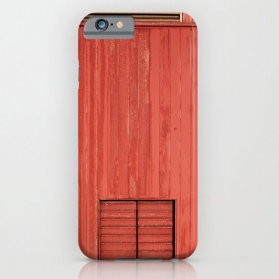 Red Wall iPhone & iPod Case
