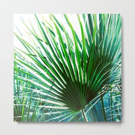 Bright Palm 4 Metal Print