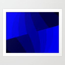 Just Blue #decor #society6 #buyart Kunstdrucke
