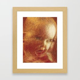 The Experience of Him (Newton's First Law) Framed Art Print