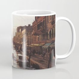 BOAT - STREETS - RIVER - TOWN - LIFE - CULTURE - PHOTOGRAPHY Coffee Mug