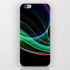 rainbow green iPhone & iPod Skin