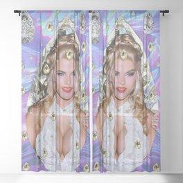 Diamond Tears Sheer Curtain
