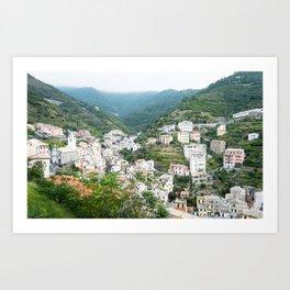 Riomaggiore, Cinque Terre Art Print