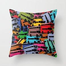 London Calling n°2! Throw Pillow