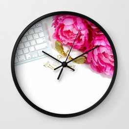 Hues of Design - 1025 Wall Clock