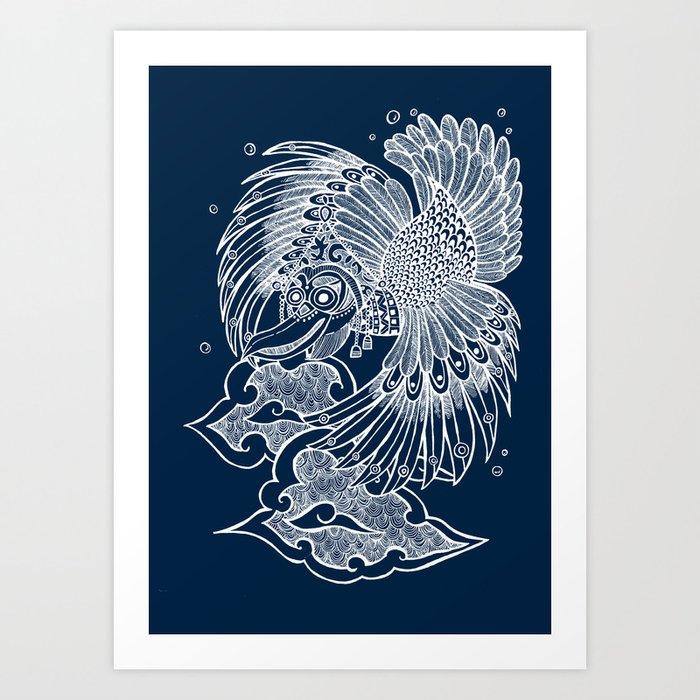 The Garuda Art Print
