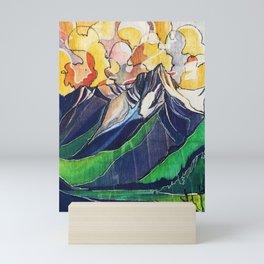 Lillooet Lake Mini Art Print