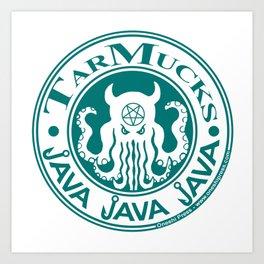 Tarmucks Java - Coporate Coffee House Franchise Art Print