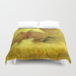 morning dew and grungy texture -1- Duvet Cover
