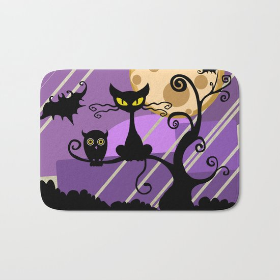 witching hour Bath Mat