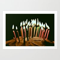 happy birthday Art Prints featuring Happy Birthday by Thomas Eppolito