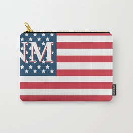 New Mexico American Flag Carry-All Pouch