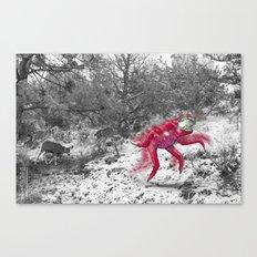 Unseen Monsters of Mount Shasta - Cheviank Wilkchum Canvas Print