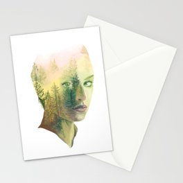 The Girl Who Knew No Trees Stationery Cards