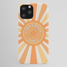 Universal Love and Sunshine iPhone Case