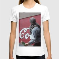 coca cola T-shirts featuring Coca Cola Wars by Vin Zzep