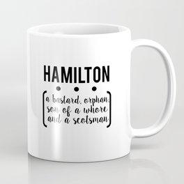 a.ham // white Coffee Mug