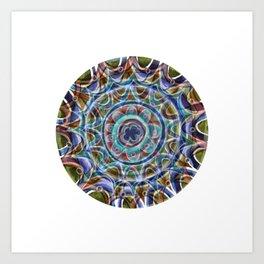 Free Hand Mandala Art Print