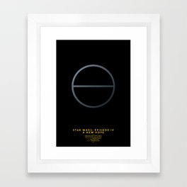 SW EP. IV Framed Art Print
