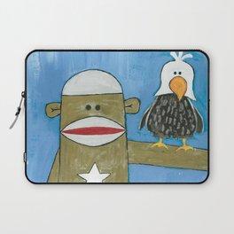 Sock Monkey 301 Laptop Sleeve