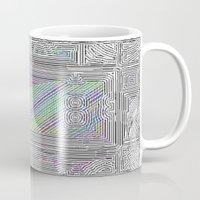 door Mugs featuring Door by Horus Vacui