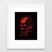 vader Framed Art Prints featuring VADER by nicebleed