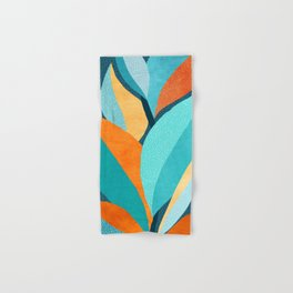 Abstract Tropical Foliage Hand & Bath Towel