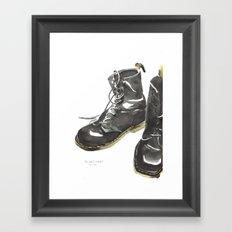 Doc Mart Framed Art Print
