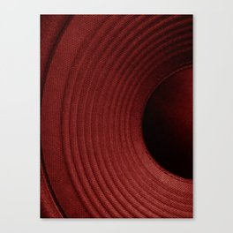 Red Hot Sounds Canvas Print