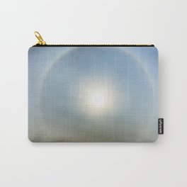 Plane in the Sun circle Carry-All Pouch