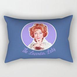 Endora, the Lavender Lady Rectangular Pillow
