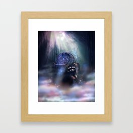 Raccoon Spirit Framed Art Print