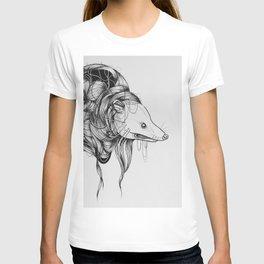 Possum Black Ink Drawing T-shirt
