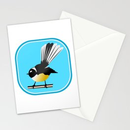 Fantail NZ BIRD Stationery Cards