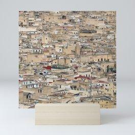 Skyline Roofs of Fes Marocco Mini Art Print