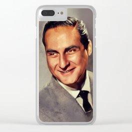 Sid Caesar, Vintage Actor Clear iPhone Case